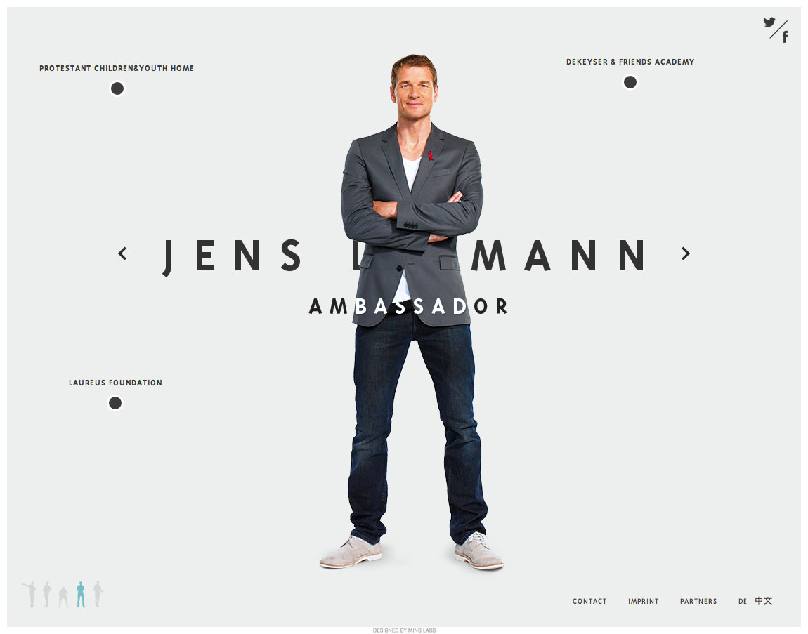 Jens Lehmann Website Screenshot