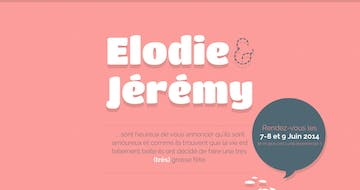 Elodie & Jérémy Thumbnail Preview