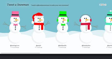 Tweet a Snowman Thumbnail Preview