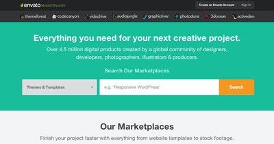 Envato Marketplaces Thumbnail Preview