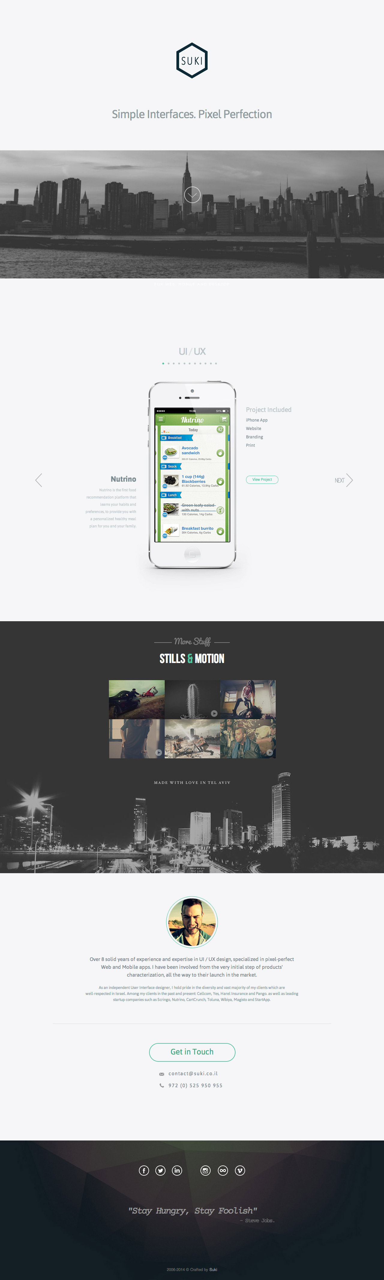 Suki Website Screenshot