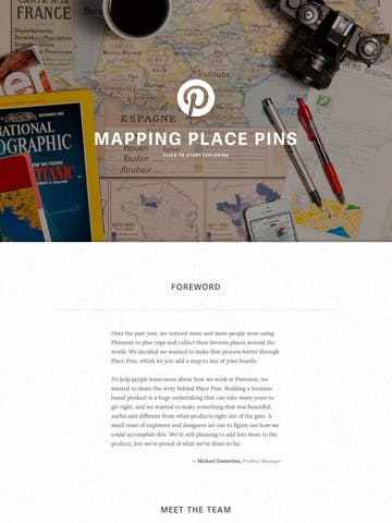 Mapping Place Pins Thumbnail Preview