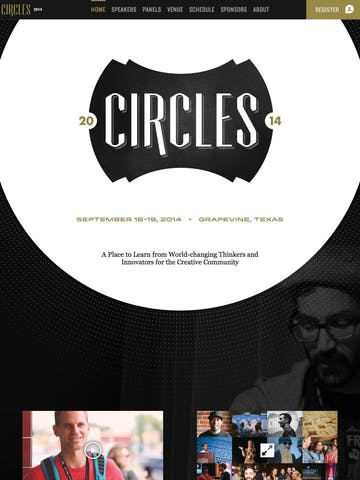 Circles: A Creative Conference Thumbnail Preview