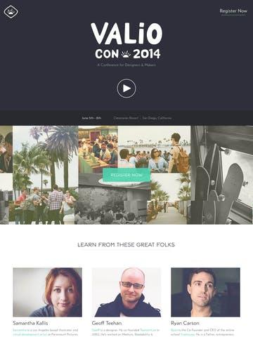 Valio Con 2014 Thumbnail Preview