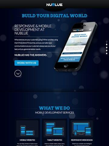 NuBlue Mobile Web Development Thumbnail Preview