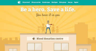 Be a hero. Save a life. Thumbnail Preview