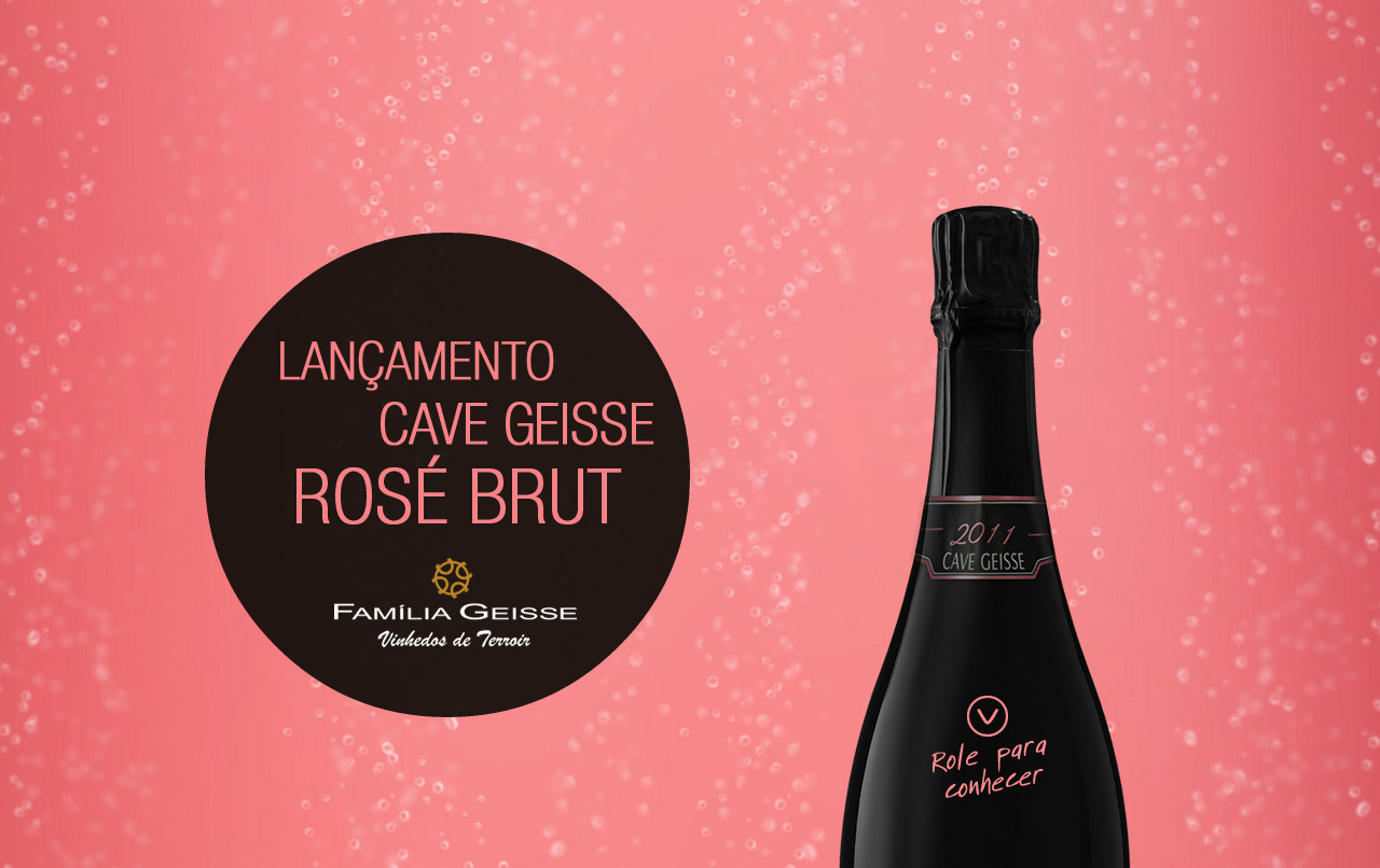 Cave Geisse Rosé Brut Website Screenshot