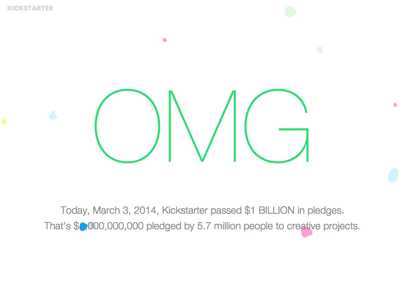 One Billion Dollars Website Screenshot