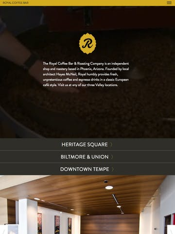 Royal Coffee Bar Thumbnail Preview