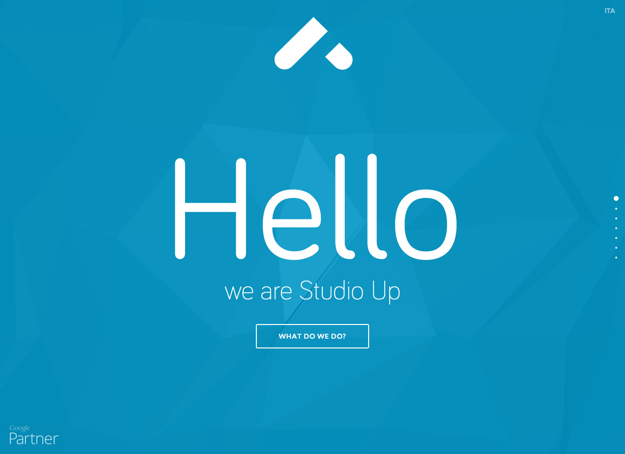 Studio Up Website Screenshot