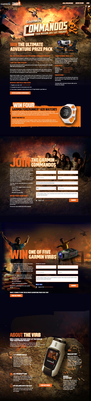 Garmin Toughmudder Website Screenshot