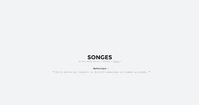 Songes Studio Thumbnail Preview