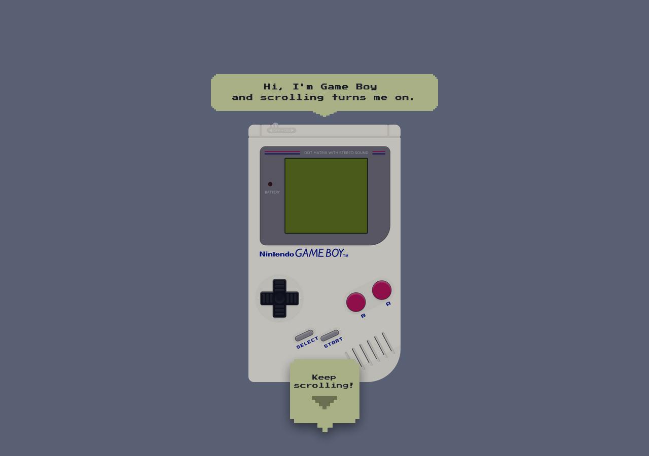 Happy 25th Birthday Game Boy Website Screenshot