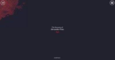 Alexander Pate Resume Thumbnail Preview