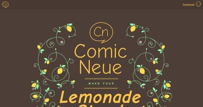 Get Comic Neue Thumbnail Preview