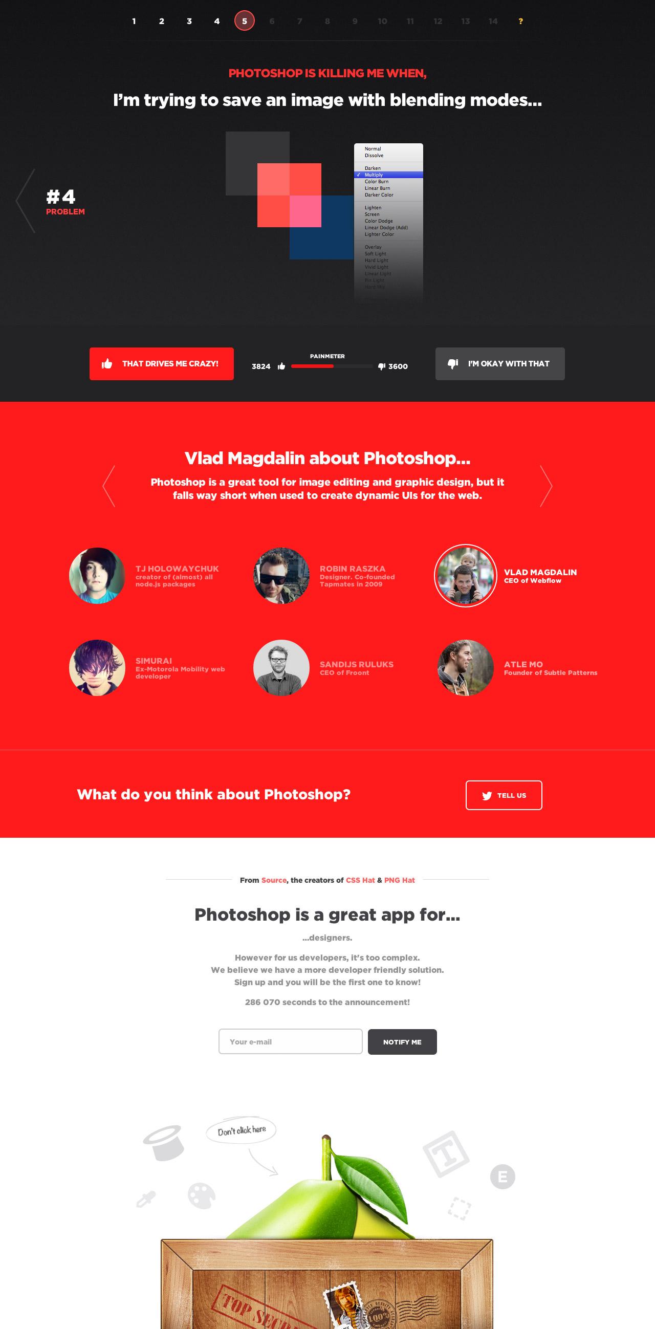 PhotoshopKiller Website Screenshot