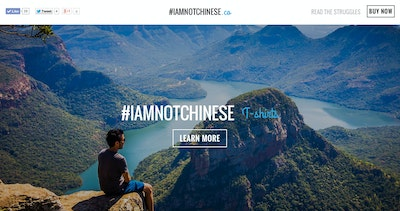 #IAmNotChinese Thumbnail Preview