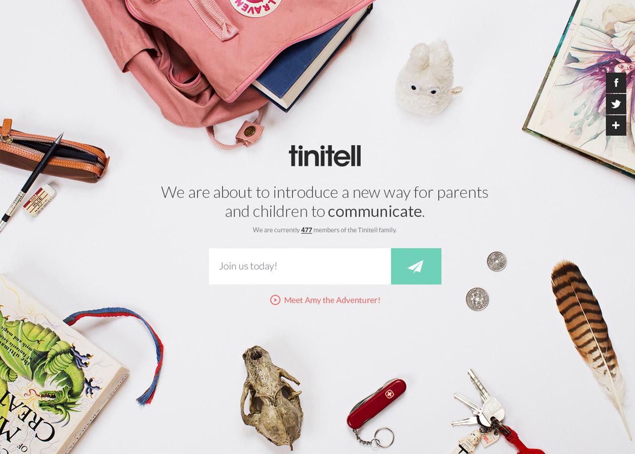 Tinitell Website Screenshot