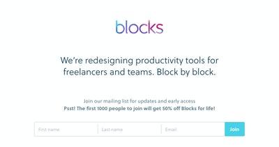 Blocks Thumbnail Preview