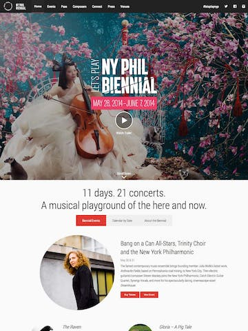 New York Philharmonic Biennial Thumbnail Preview