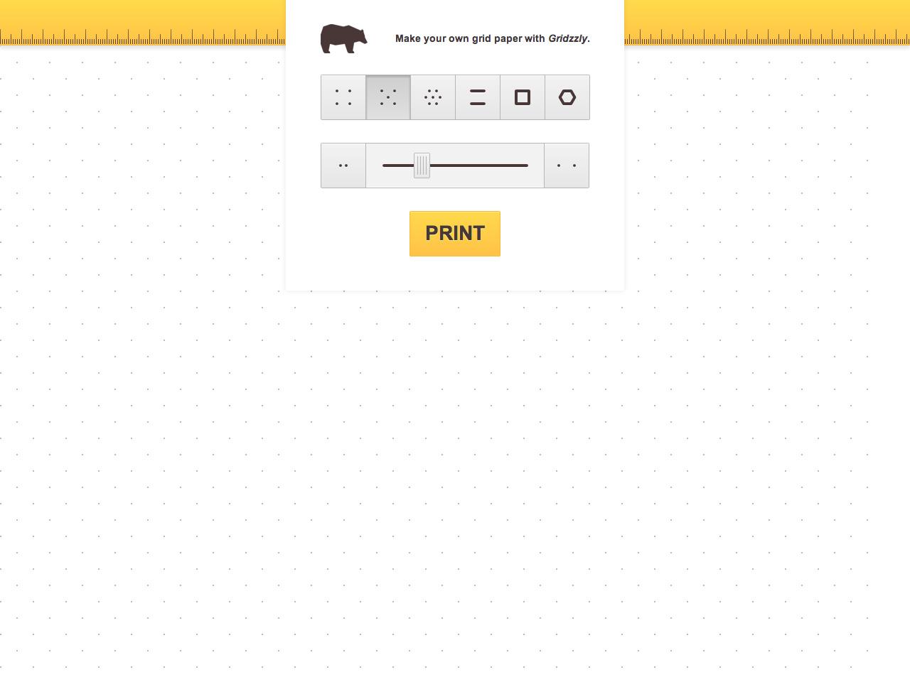 Gridzzly Website Screenshot