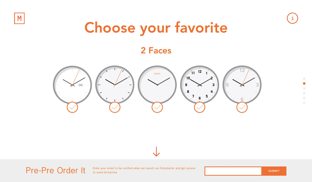 A Watch by You Website Screenshot