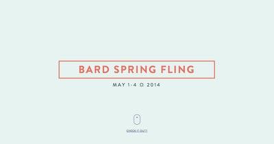 Bard ☼ Spring ☼ Fling Thumbnail Preview