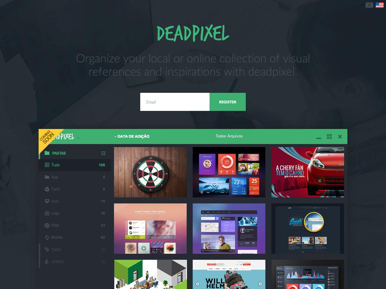 deadpixel Website Screenshot