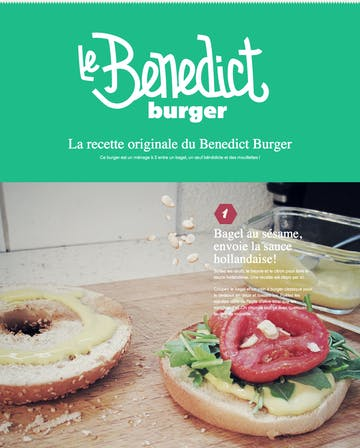 Benedict Burger recipe Thumbnail Preview