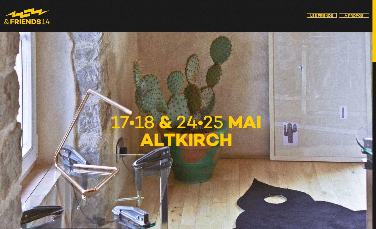 Overblitz & Friends 2014 Website Screenshot