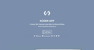 Koder App Thumbnail Preview