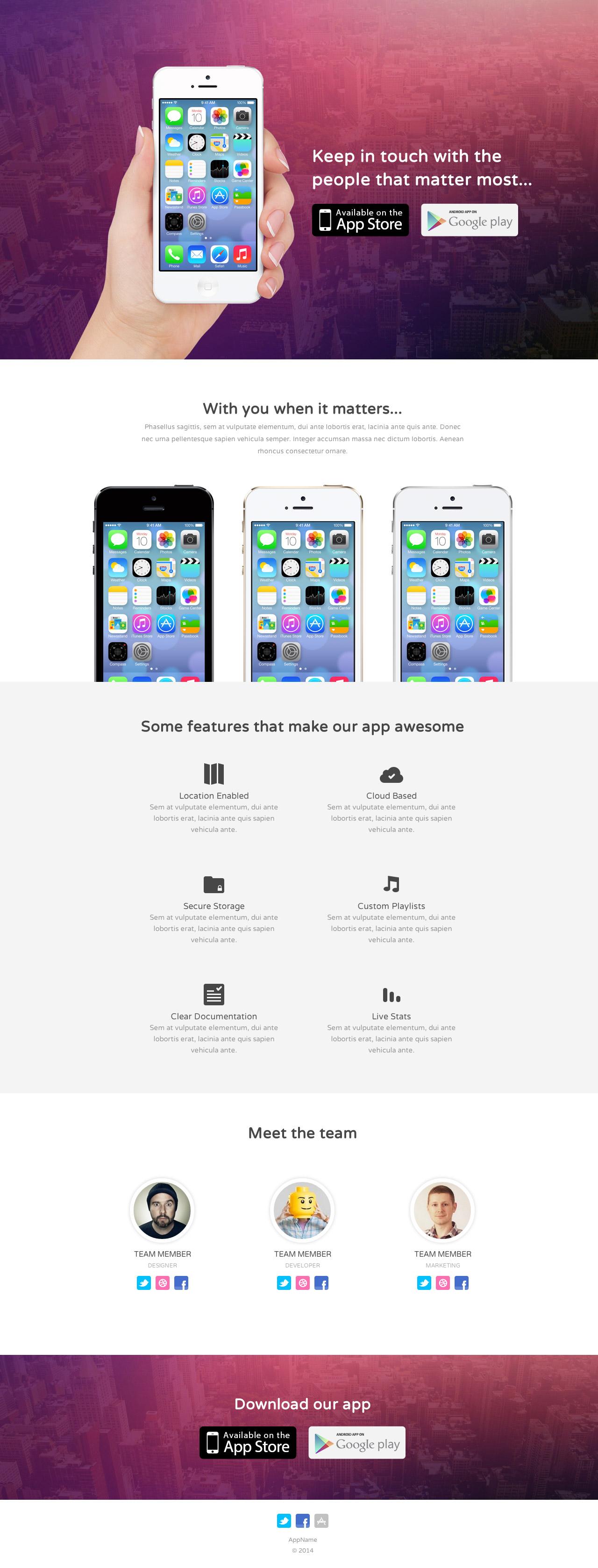 Bounce Website Screenshot