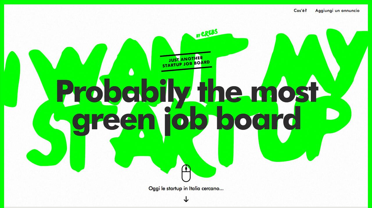 I Want My Startup Website Screenshot