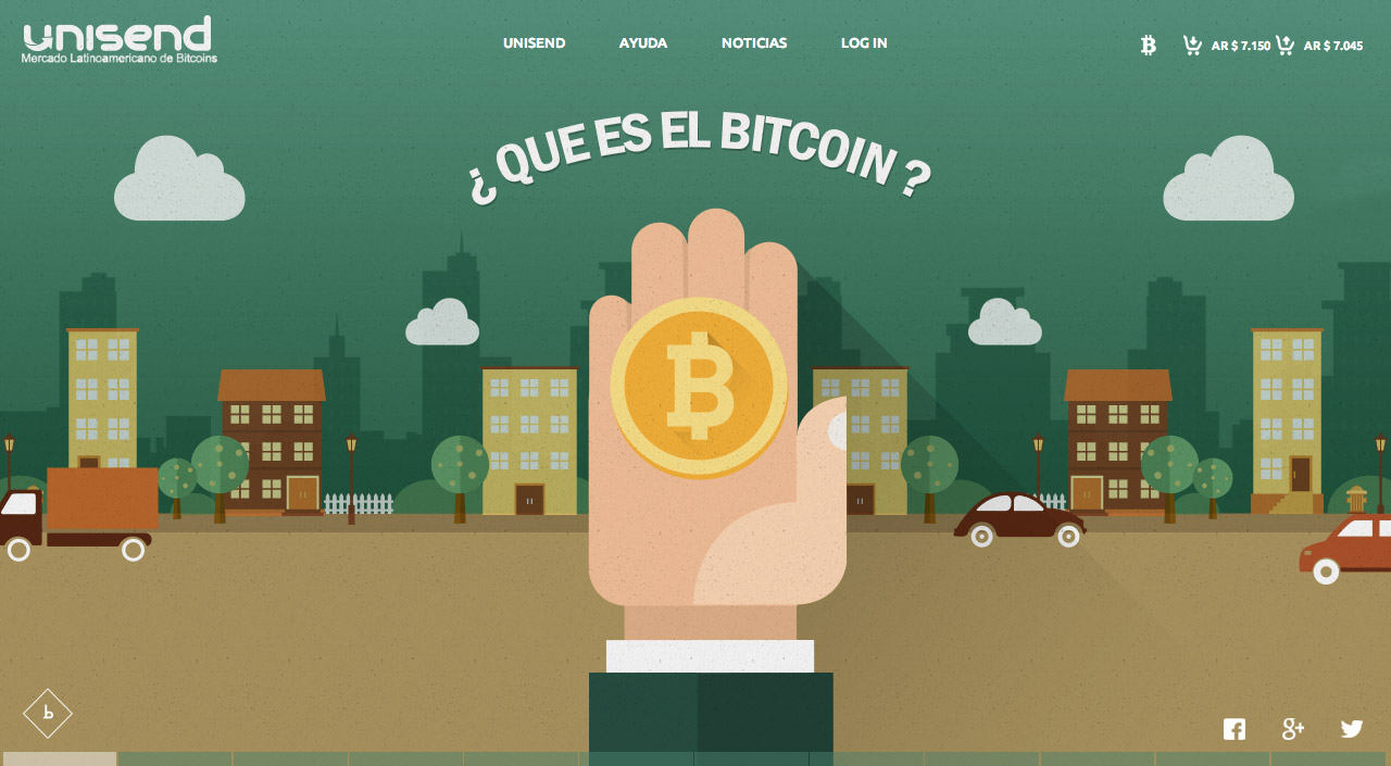 What is Bitcoin? Website Screenshot
