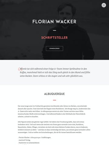 Florian Wacker Thumbnail Preview