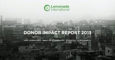 Lemonade International – Annual Report 2013 Thumbnail Preview