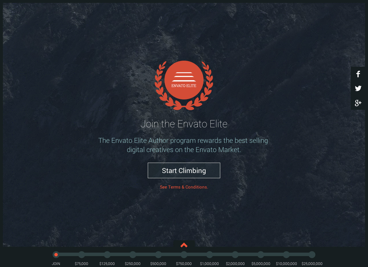 Envato Elite Website Screenshot