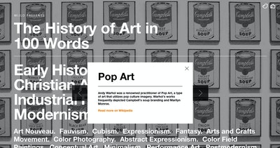 History of Art in 100 Words Thumbnail Preview