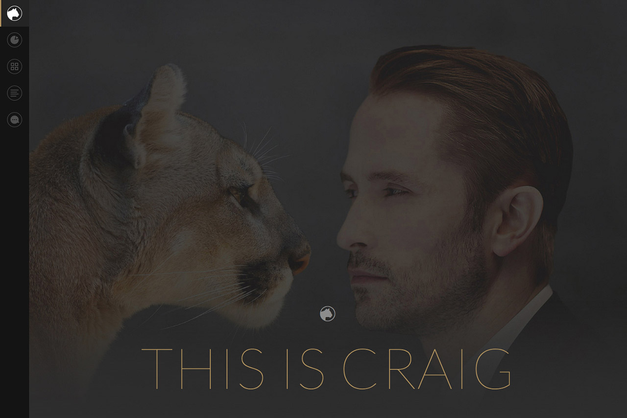 Craig Teel Website Screenshot