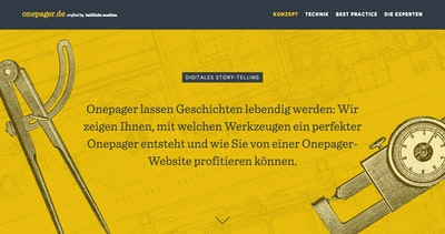 Onepager.de Thumbnail Preview