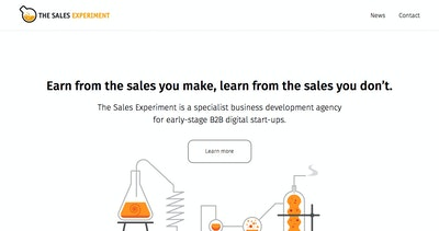 The Sales Experiment Thumbnail Preview