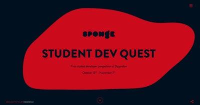 Sponge – Student Dev Quest Thumbnail Preview