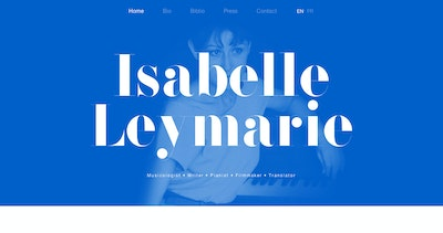 Isabelle Leymarie Thumbnail Preview