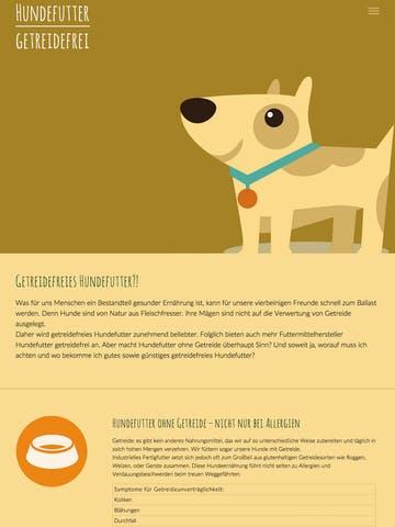 Hundefutter Getreidefrei Thumbnail Preview