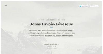 Jonathan Lavoie-Levesque Thumbnail Preview