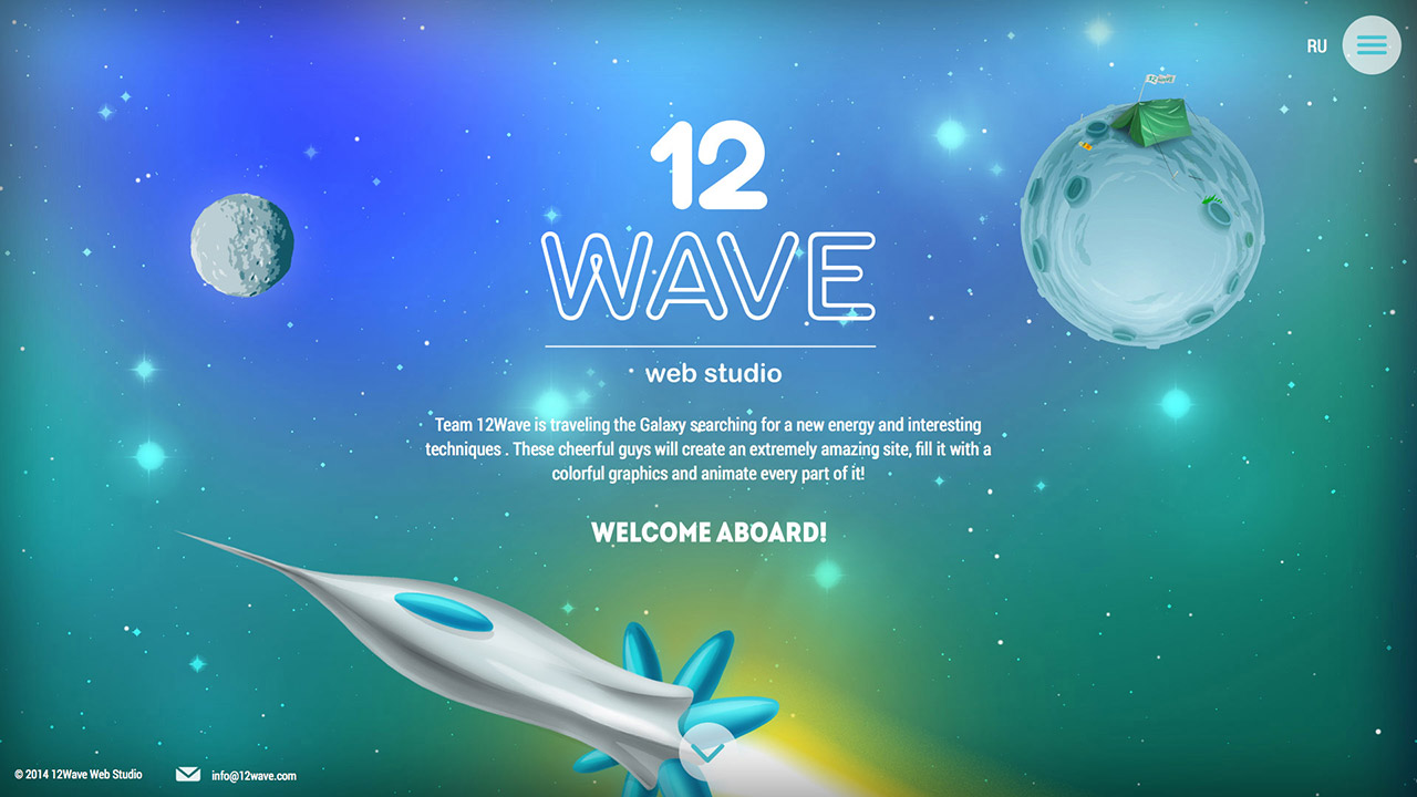 12Wave Web Studio Website Screenshot