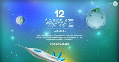 12Wave Web Studio Thumbnail Preview