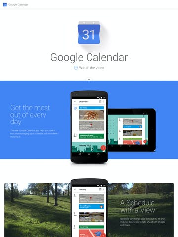 Google Calendar Thumbnail Preview