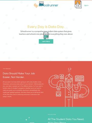 Sharp Sans One Page Website
