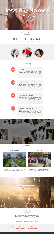 Ever After Website Screenshot
